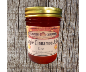 Apple Cinnamon Jelly 8oz