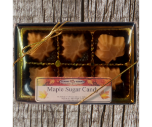 Pure Maple Candy 6 Piece Box