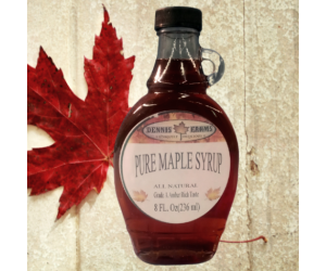 Pure Maple Syrup 8oz Glass