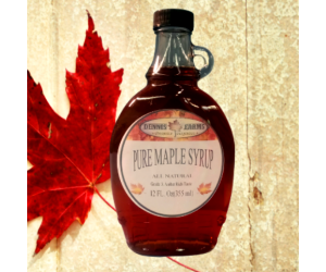 Pure Maple Syrup 12oz Glass