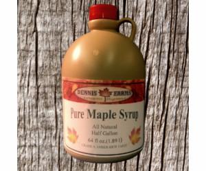 Pure Maple Syrup 1/2 Gallon...