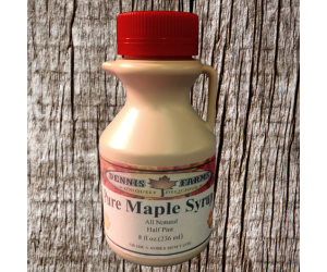 Pure Maple Syrup 8oz 1/2...
